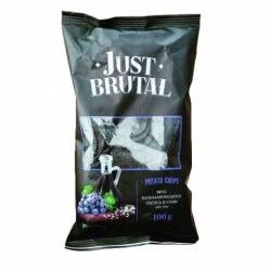 Чипсы Just Brutal вкус бальзамического уксуса и соли 100г