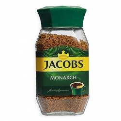 Кофе Якобз Монарх раств. субл. стекл. банка 95г