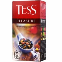 Чай Tess Плэжа черный тропич. фрукты 25*1,5г