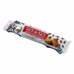 Печенье Тет-а-тет аромат клубники со сливками 75г