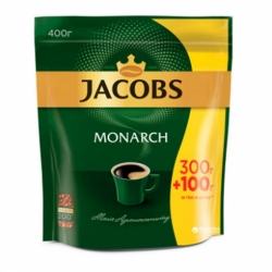 Кофе Якобз Монарх натур. раств. субл. 400г