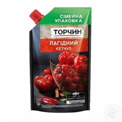 Кетчуп Торчин Нежный дой-пак 540г