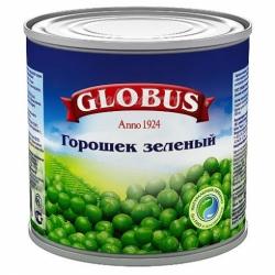Горошек Глобус зеленый 400г