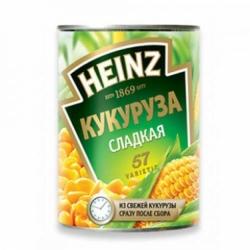 Кукуруза Heinz сладкая консервированная ж/б 400г