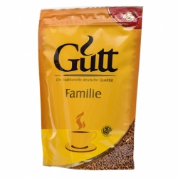 Кофе Gutt Familie растворимый гранулированный м/уп 70г