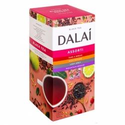 Чай Dalai Ассорти черный мелколистовой 24 пак по 1,5гр