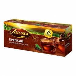 Чай Лисма черный крепкий байховый индийский 25*2г
