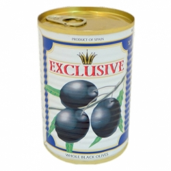 Маслины Эксклюзив без косточки 390г