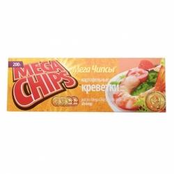 Чипсы Мега вкус креветки 200г
