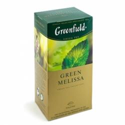 Чай Greenfield Грин Мелисса зелёный 25пак по 1,5г