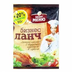 Бизнес Ланч-Лапша вкус тушеной курицы 90г