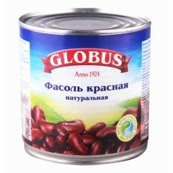 Фасоль красная Глобус ж/б 400г
