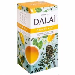 Чай Dalai Оранж минт зеленый мелколистовой 25пак по 1,8гр