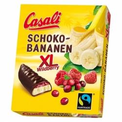 Банановое суфле с ягодным желе в шоколаде 140г