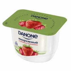 Творожный десерт клубника земляника 3,6% Данон 170 гр