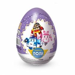 Яйцо Шоки-Токи (Робокар Поли) +сюрприз