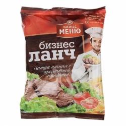 Бизнес Ланч-Лапша вкус пряной говядины 90г