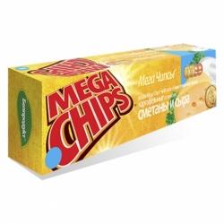 Чипсы Мега вкус сметана и сыр 150г