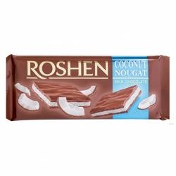 Шоколад Roshen молочный с кокосовой нугой 90г