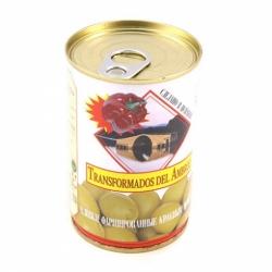 Оливки Трансформадос дель Амброс фарш. красным перцем 300г