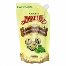 Майонез Махеевъ с перепелиным яйцом 67% 380г