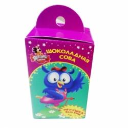 Шоколад Детский сувенир с сюрпризом сова 45г