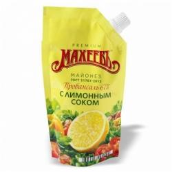Майонез Махеевъ с лимонным соком 67% 380г
