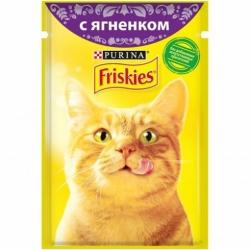 Фрискис для взрослой кошки ягнёнок в подливе 85г