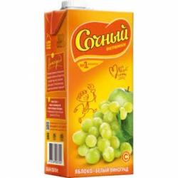 Сочный вит. Яблочно-виноградный 0,95л