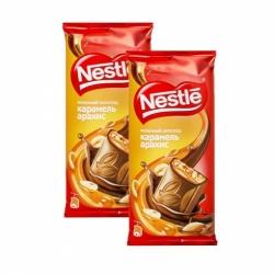 Шоколад Nestle молоч.с карам.и арах 90г