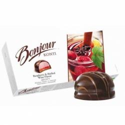 Десерт Bonjour Konti глинтвейн/малина 232г