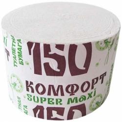 Туалетная бумага Комфорт supermaxi без втулки