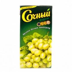 Нектар Сочный фрукт Яблоко-виноград бел.сортов 1,95л