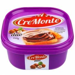 Паста CreMonte Duo какао-ореховая250г