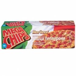 Чипсы Мега вк.пиццы пепперони 100г.