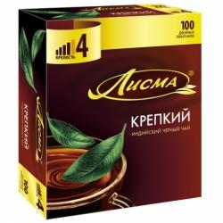 Чай Лисма Крепкий черн.100*2г