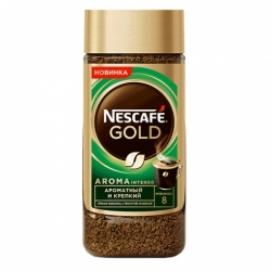 Кофе Nescafe Gold Aroma Intenso натур.с доб.мол. 85г