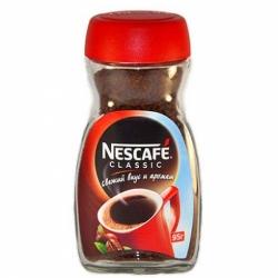 Кофе Nescafe Classic порошкообр.с доб.натур. 95г
