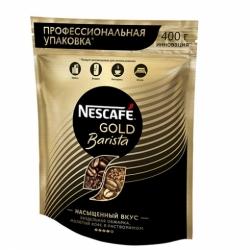 Nescafe Gold Barista раствор.с доб.молотого пакет 400 г
