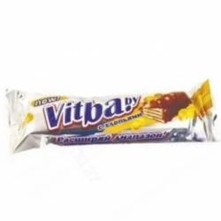 Вафельный бат.Vitba.by с хлоп.в молоч.гл. 38г