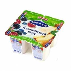 Йогурт Альпенлэнд 0,3% лесн яг-ябл-груша 95г
