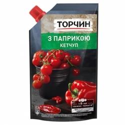 Кетчуп Торчин с паприкой дой-пак 270г